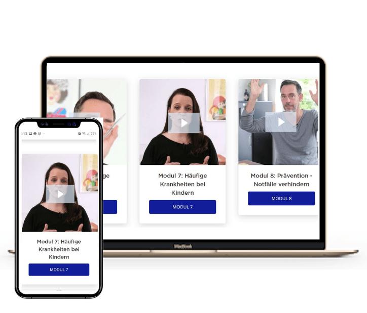 Online Videokurs Erste Hilfe Rettet Leben